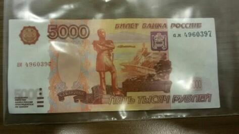 В Воронеже дело фальшивомонетчика из Москвы дошло до суда
