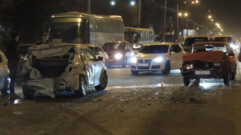 Больше всего аварий в Воронеже происходит в Коминтерновском районе