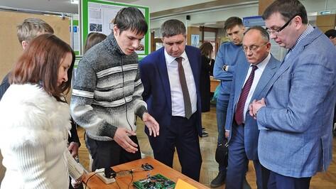 Воронежский опорный университет показал разработки молодых ученых