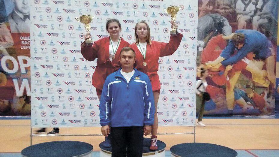 Таловские спортсменки завоевали «золото» на всероссийском турнире по самбо