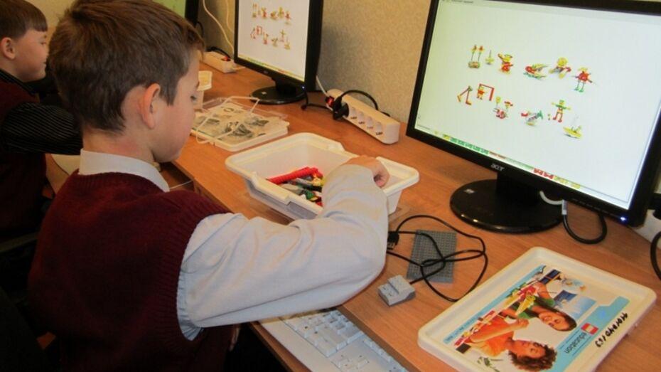В Верхнем Мамоне школьники на уроках собирают трансформеров