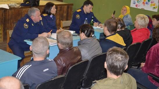 Погорельцы воронежской Николаевки стали потерпевшими по уголовному делу
