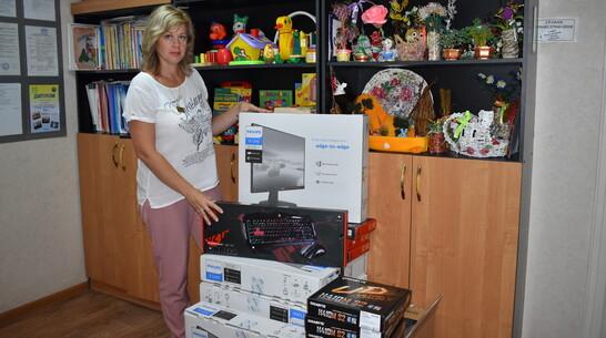 Компьютеры и тренажеры закупили для Борисоглебского детского реабилитационного центра