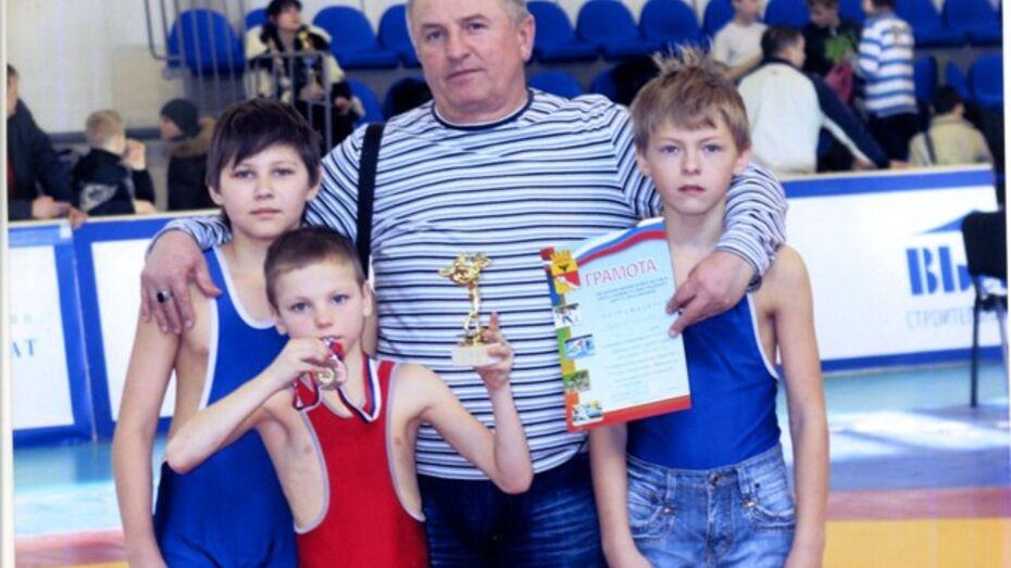 Рамонский спортсмен победил в первенстве Воронежа по греко-римской борьбе