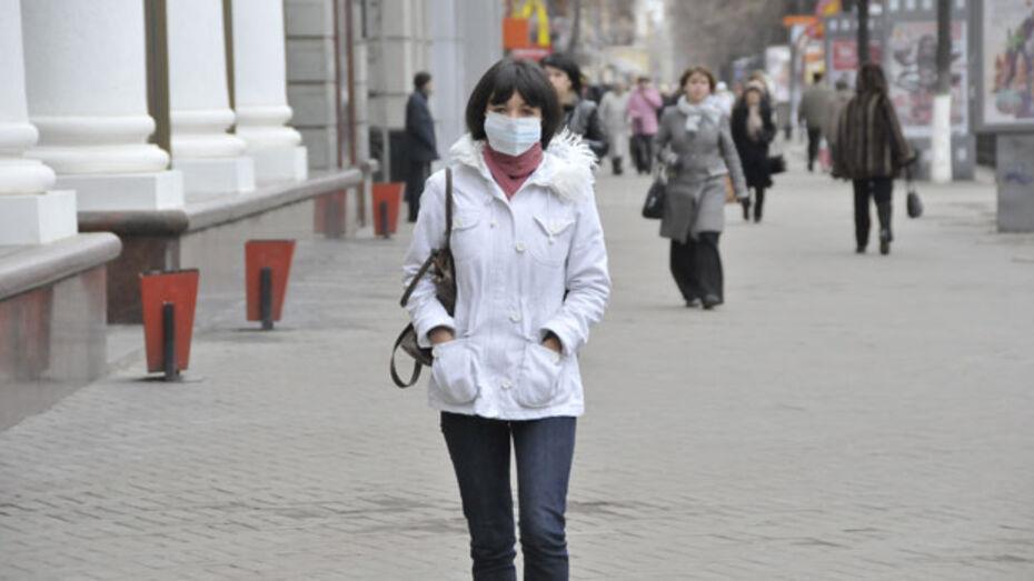 За неделю в Воронеже и области более 10 тысяч человек подхватили грипп