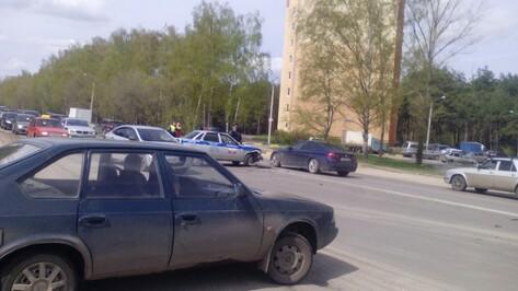 Очередная машина ГИБДД в Воронеже попала в аварию