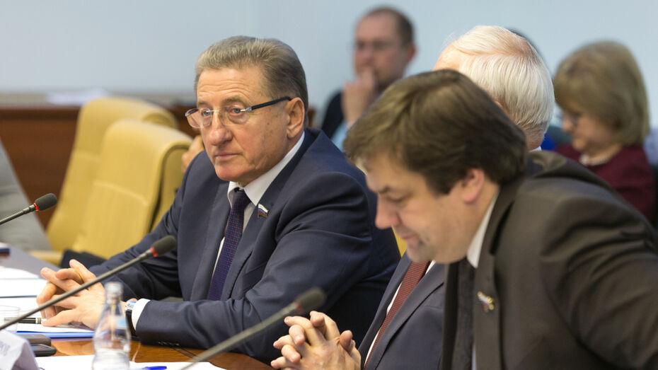 Сенатор от Воронежской области: «Одна из главных задач сената – взаимодействие с регионами»