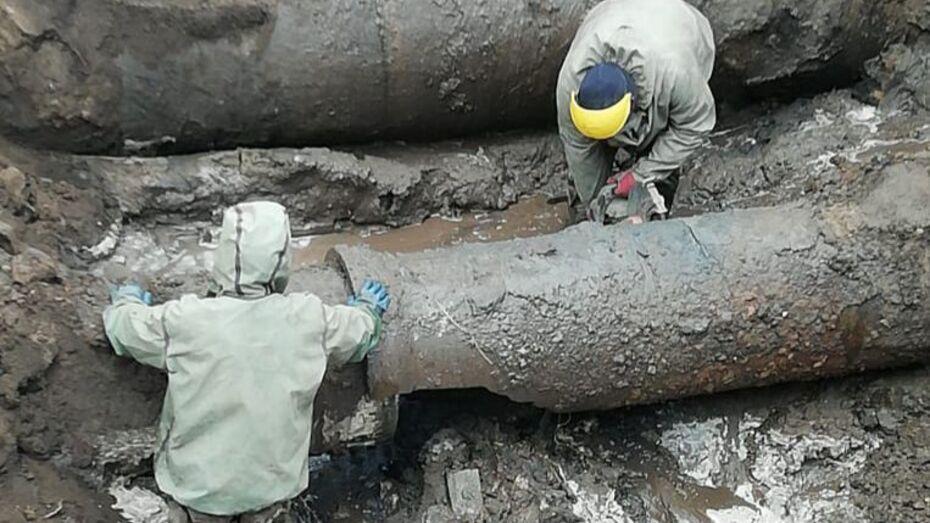 В Советском районе Воронежа восстановили водоснабжение