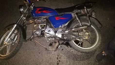 В ДТП с 2 мотоциклами в Воронежской области один из водителей погиб