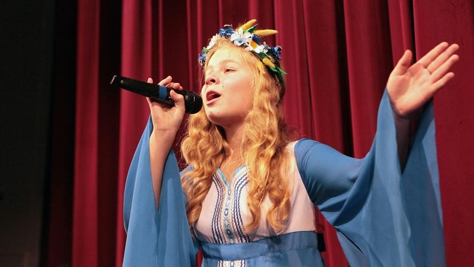 Подгоренская солистка стала лауреатом всероссийского конкурса «Роза ветров»