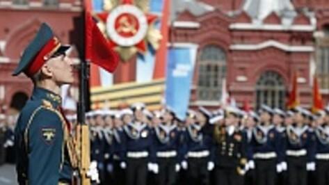Военнослужащий из Репьевского района принял участие в Параде Победы в Москве