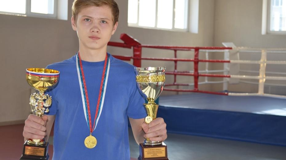 Лискинский боксер завоевал «золото» на турнире городов России