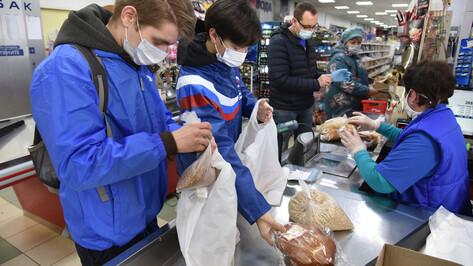 Воронежские волонтеры раздали более 200 т продуктовых наборов