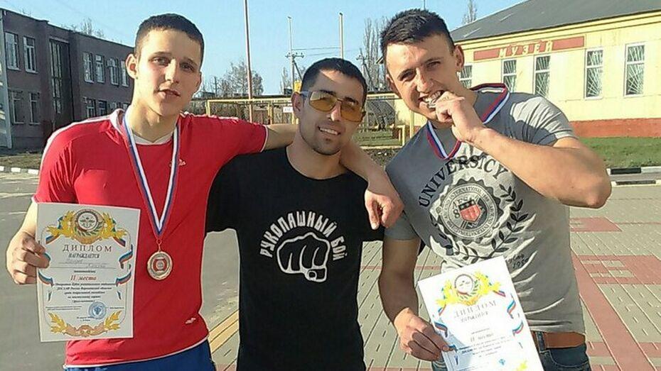 Бобровчане взяли 2 «серебра» на областном турнире по кикбоксингу