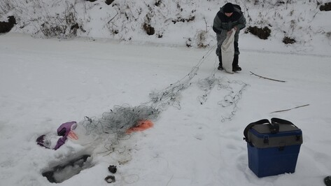 Павловские рыбаки начали зимнюю антибраконьерскую акцию