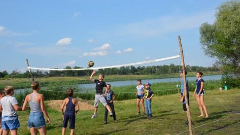 В Поворинском районе открылся лагерь отдыха для спортсменов