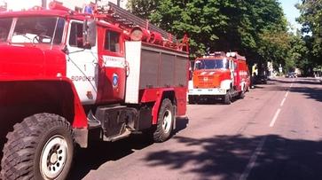 В центре Воронежа спасатели эвакуировали 17 человек из-за пожара
