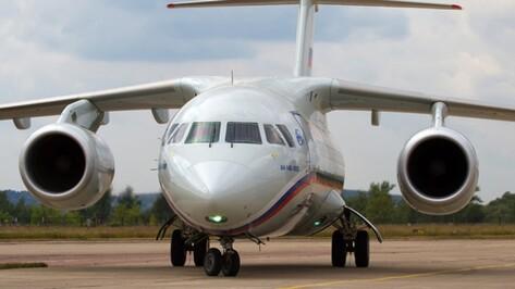 Упавший в Подмосковье пассажирский самолет выпустили в Воронеже