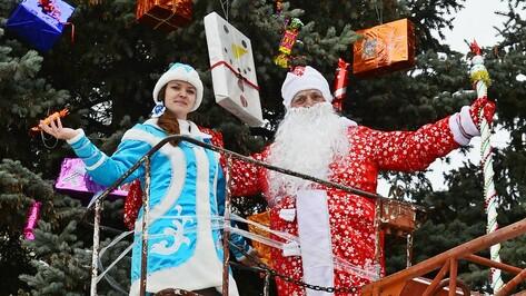 В новогодней акции по украшению елей приняли участие более 500 семилукцев