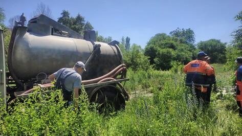 Еще один прорыв водопровода обнаружили на левом берегу Воронежа