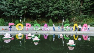 В Воронеже открылся 7-й международный фестиваль «Город-сад»