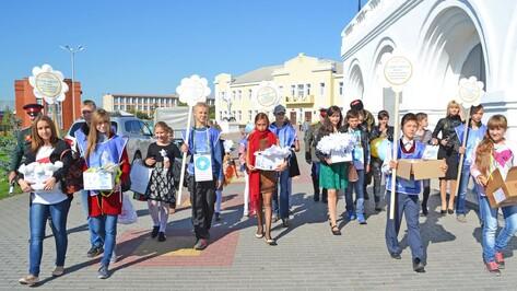 В Лисках во вторник стартовала благотворительная акция «Белый цветок»