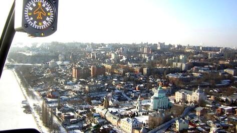 С воздуха кажется, что на Воронеж каждый день падают метеориты