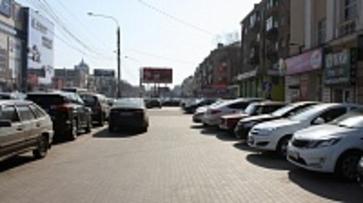 Мэр Воронежа запретил устраивать платные парковки вдоль городских улиц