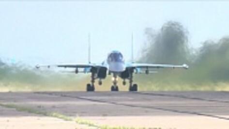 Воронежские экипажи Су-34 на учениях в Калининграде поразили все цели условного противника