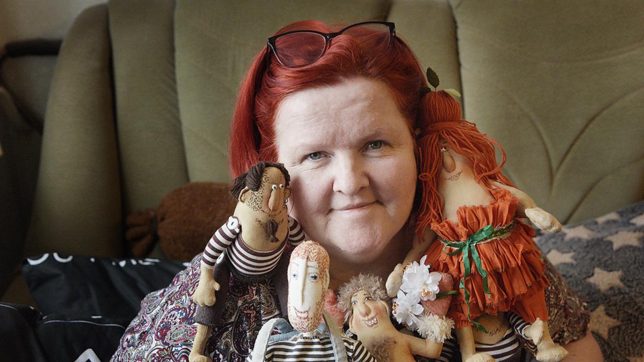 Куклы как отдушина. Как спасти воронежскую мастерицу-инвалида от заточения в квартире