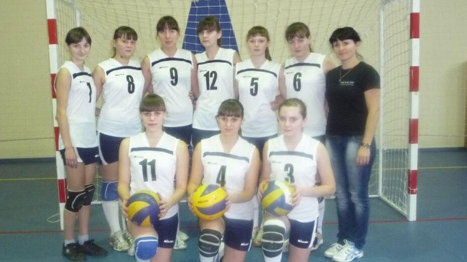 Калачеевские волейболистки заняли первое место на первенстве ДЮСШ области