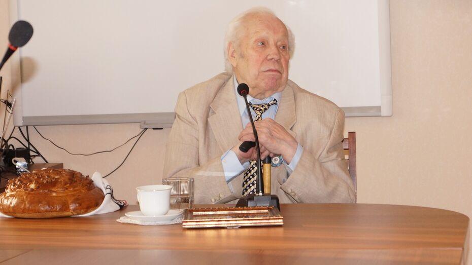 В Хохольском районе отметят 85-летие режиссера Василия Панина