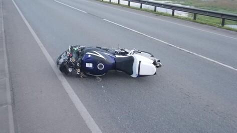 В Воронежской области 32-летний мотоциклист погиб в ночном ДТП