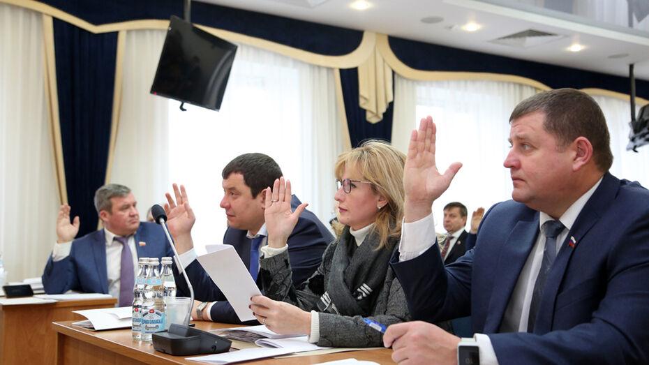 Гордума утвердила стратегию развития Воронежа до 2035 года