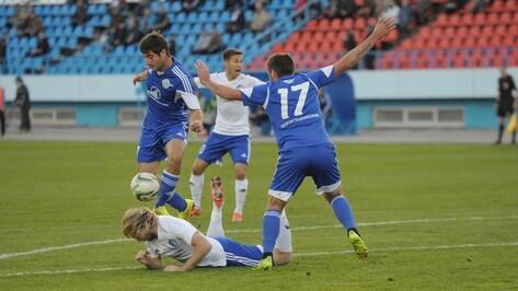 Воронежскому «Факелу» понадобился пенальти для десятой победы