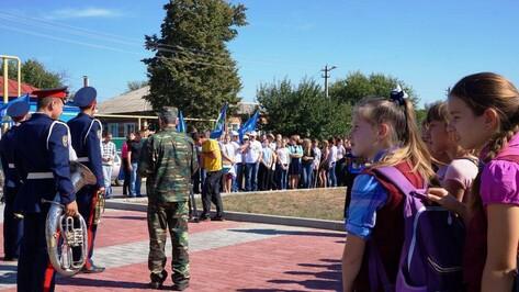 Участники автопробега в честь 70-летия Победы посетили Верхнемамонский район