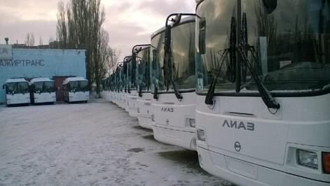 С Нового года на воронежские маршруты выйдут 37 новых автобусов