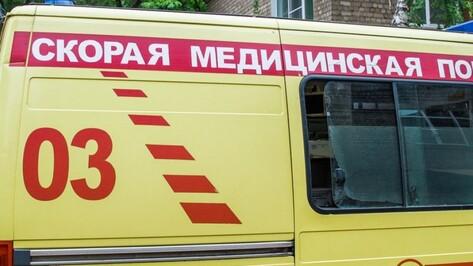В Воронеже водитель Ford пострадал в ДТП с «Ладой» на улице Космонавтов