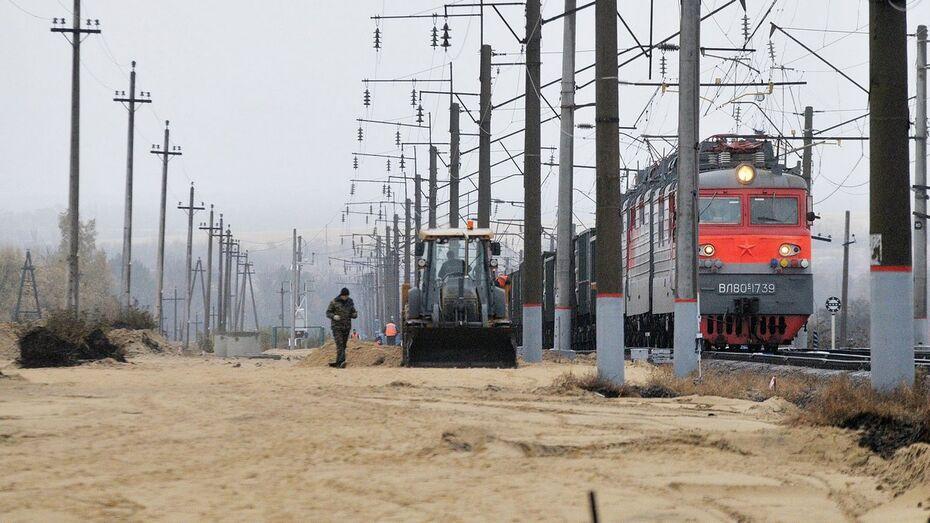 Солдат погиб на стройке железнодорожной ветки в Воронежской области
