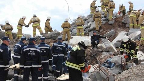 Воронежские спасатели ликвидировали последствия условного взрыва газа