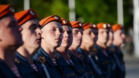 В Воронеже курсанты института МЧС примут присягу на Адмиралтейской площади