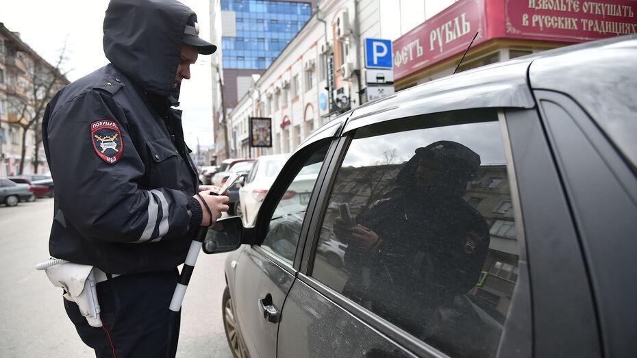 ГИБДД устроит рейды на пьяных водителей в Воронежской области