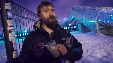 Волонтеры призвали воронежцев покормить бездомных в канун Рождества