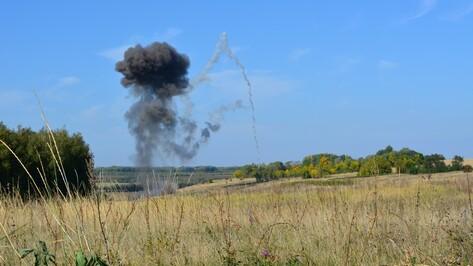 В Острогожком районе взрывотехники уничтожили 289 снарядов времен войны
