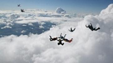 Воронежских парашютисток официально признали рекордсменками ЦФО