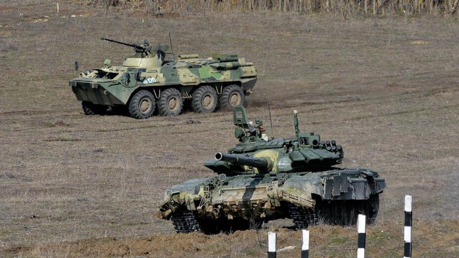 Более 2 тыс военных поучаствуют в учениях на «Погоново» в Воронежской области