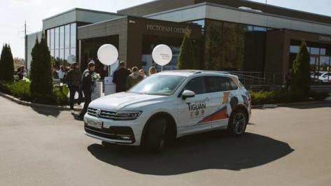 Воронежцы оценили внедорожники Volkswagen на «Большом OFF-ROAD Volkswagen»