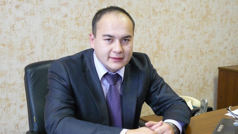 В Репьевском районе назначили исполняющего обязанности главы администрации района