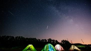 Любители астрономии сфотографировали звездопад Персеиды под Воронежем