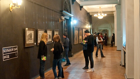 Воронежская академия искусств показала «Размышления» Натальи Ходюк